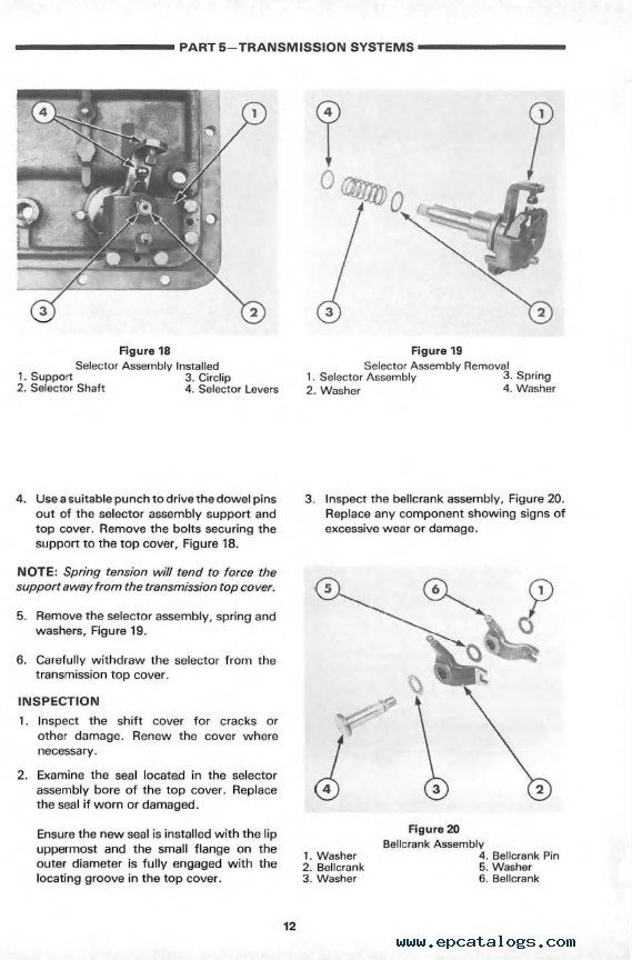 4600 Ford Tractor Wiring Diagram New Holland Ford 7610 Tractor Repair Manual Pdf