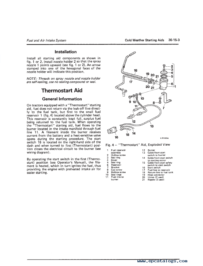 John Deere 2140 Tractor Workshop Manual PDF