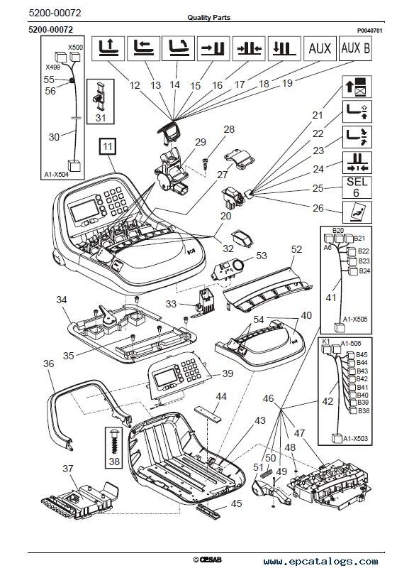 Download Cesab Reachtrucks R314 Quality Parts Manual PDF
