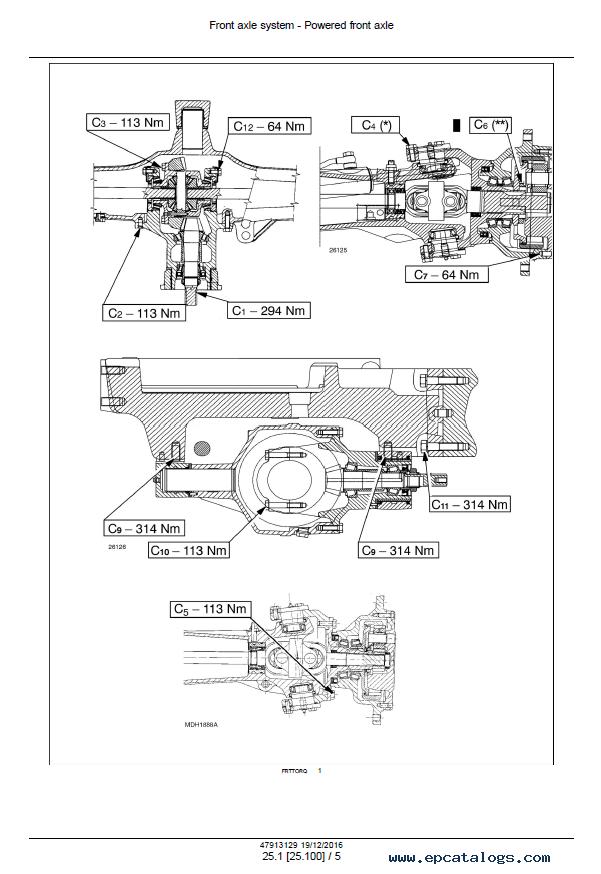 New Holland TD4.70F TD4.80F TD4.90F Tractors PDF Manual
