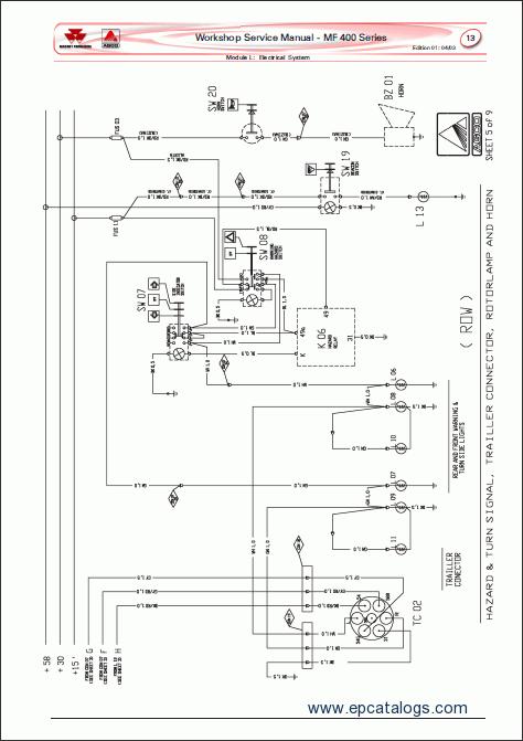Massey Ferguson 400 Series Tractors PDF Manual