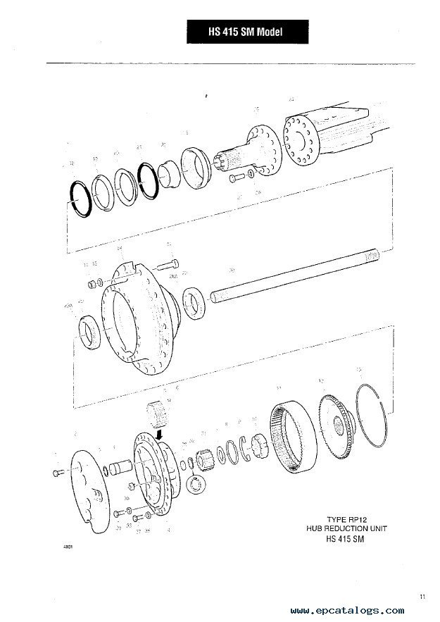 Clark-Hurth 36R & 42R Rigid Axles CTM319 + Service PDF