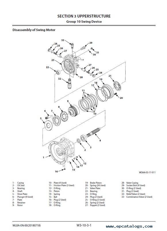 Hitachi Wheeled Excavator ZX170W-5B Workshop Manual
