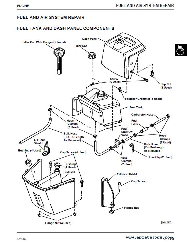 john deere stx30 belt diagram