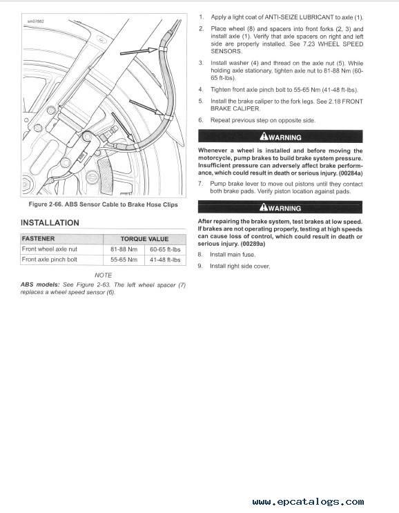 Download Harley Davidson V-Rod 2015 Service Manual PDF