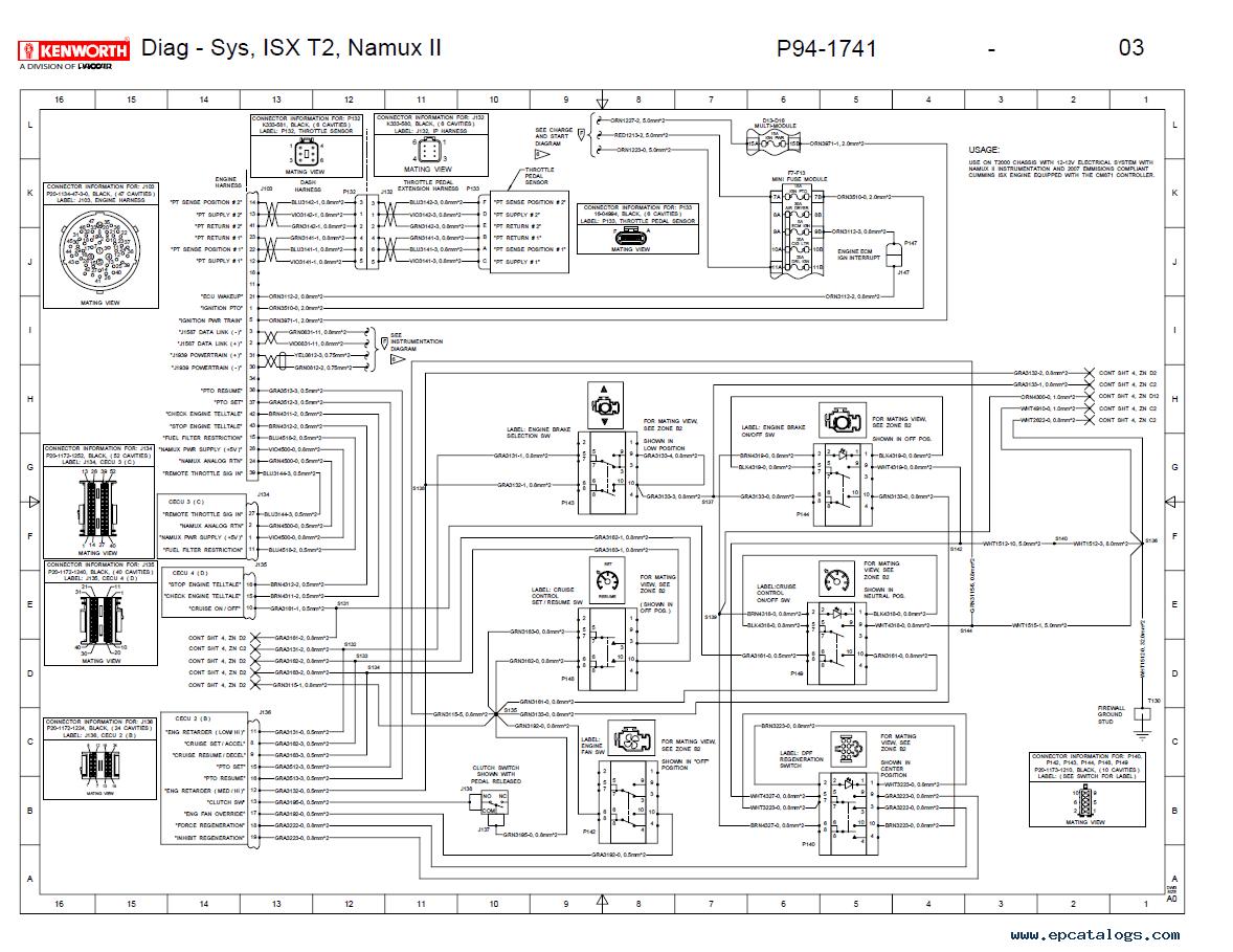 I0wpcom Epcatalogscom File B8a18205b1eb5127 Kenworth W900 Fuse Box