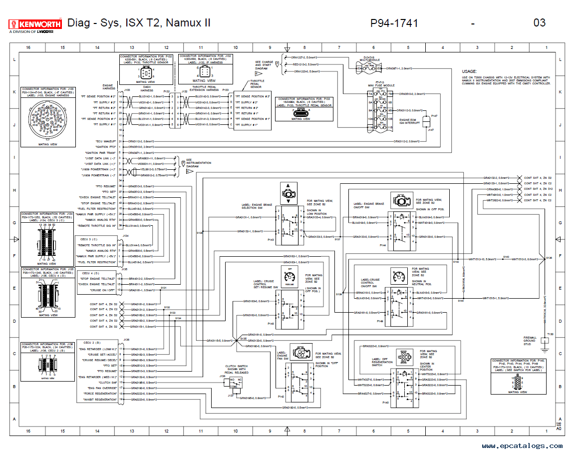kenworth t2000 electrical wiring diagram manual pdf?resize\\\=665%2C513\\\&ssl\\\=1 kenworth t800 wiring diagram free download schematic wiring diagrams Kenworth T800 Wiring Schematic Diagrams at gsmx.co