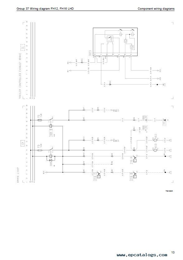 volvo semi truck wiring diagram wiring diagram a diagram for volvo semi truck image about wiring