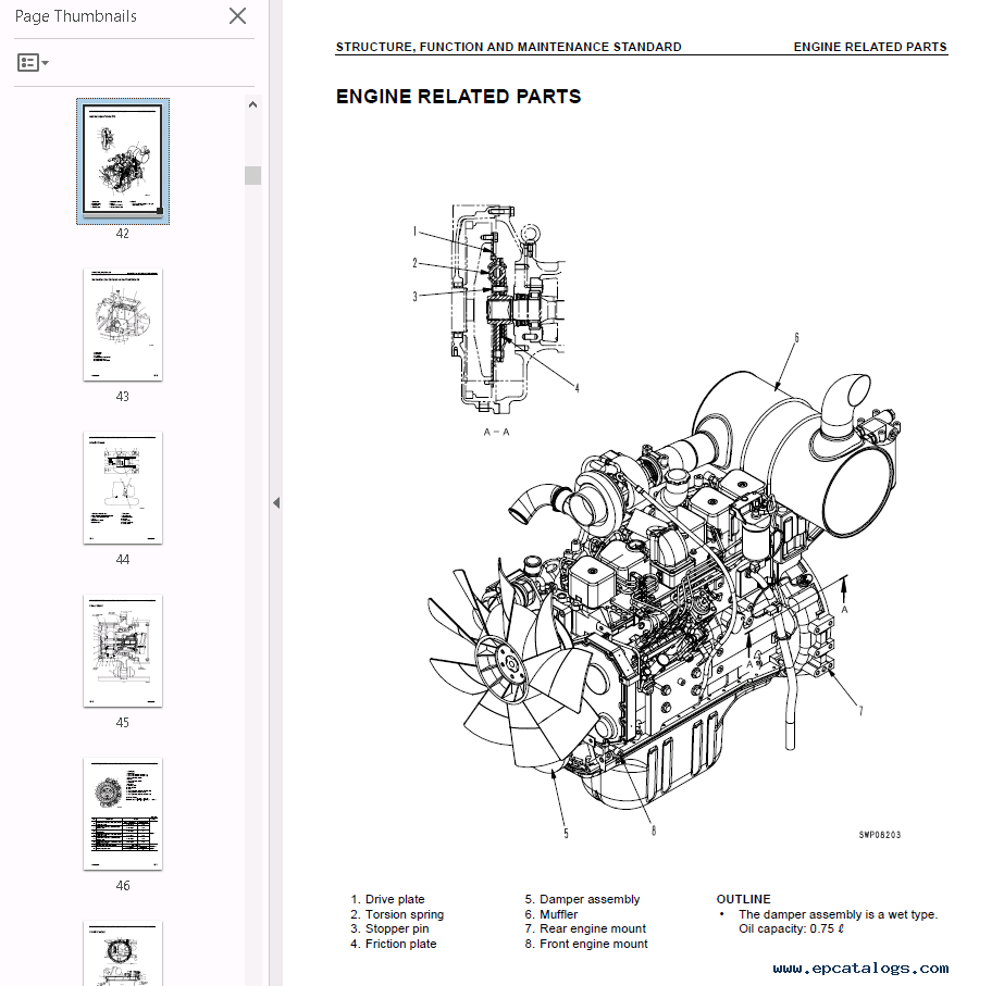 Komatsu Hydraulic Excavators PC228US/USLC-1,2,3 PDF Set