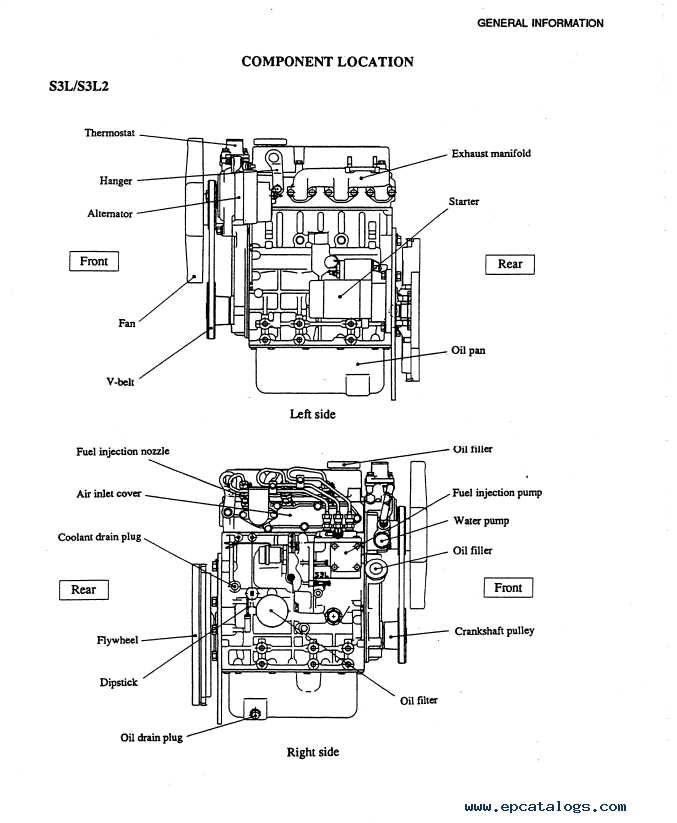 mitsubishi tractor alternator wiring diagram