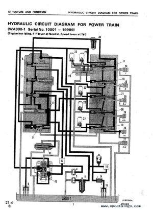 Komatsu Wheel Loader WA3001 & WA3201 Shop Manual PDF