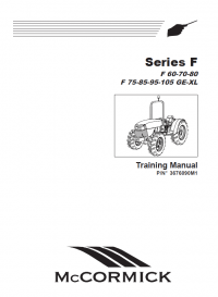 McCormick F 60-70-80 F 75-85-95-105 GE-XL Tractors PDF