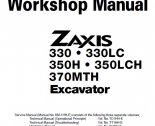 Hitachi EX60-5/75UR-3/75URLC-3 Workshop Manuals PDF Download