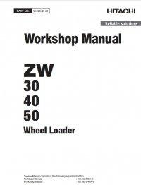 Download Hitachi Loader ZW30/40/50 Workshop Manual PDF