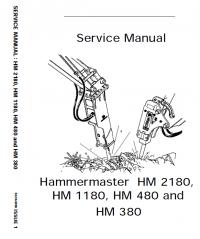 JCB Hammermaster HM2180 HM1180 HM480 HM380 Manual PDF