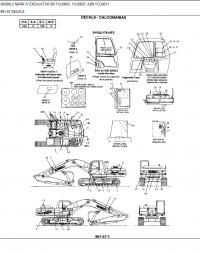 Kobelco SK300 LC Mark IV Excavator Parts Manual PDF