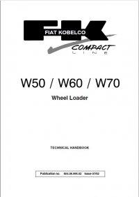 Download Fiat Kobelco W50 W60 W70 Loader Technical PDF