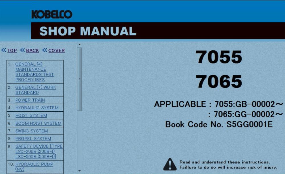 medium resolution of kobelco sk210 wiring diagram wiring library kobelco sk55 kobelco sk210 wiring diagram
