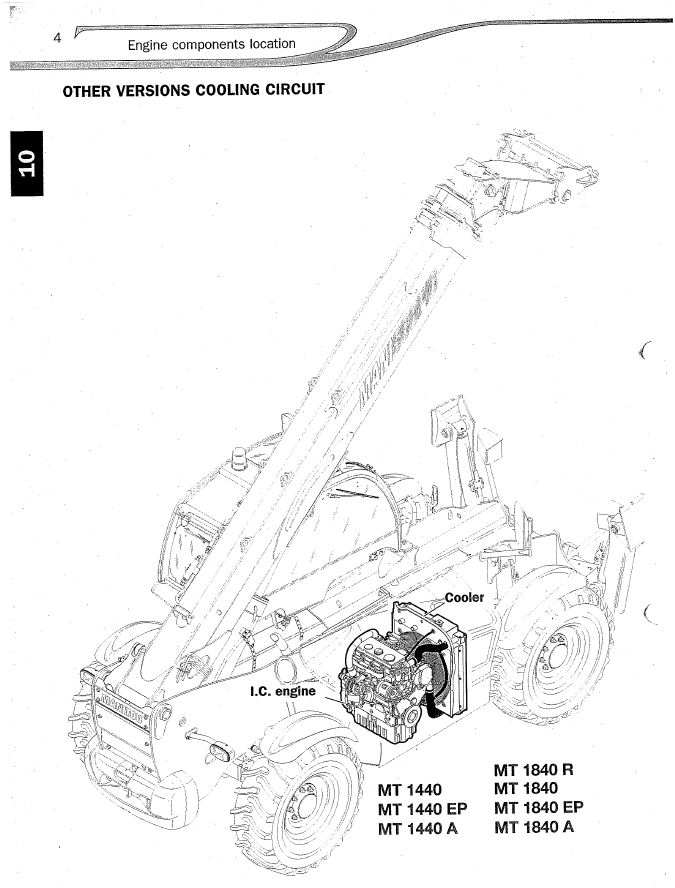 Manitou Mt Workshop Service Manual Download