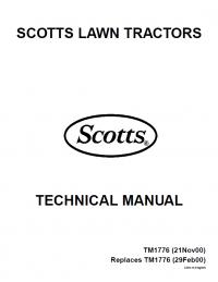 John Deere S1642 S1742 S2046 S2546 Lawn Tractor TM1776