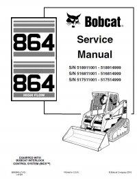 Bobcat 864 864HF Compact Track Loader Service Manual PDF