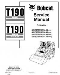 Bobcat T190 Turbo T190 Turbo HF Loader Service Manual PDF