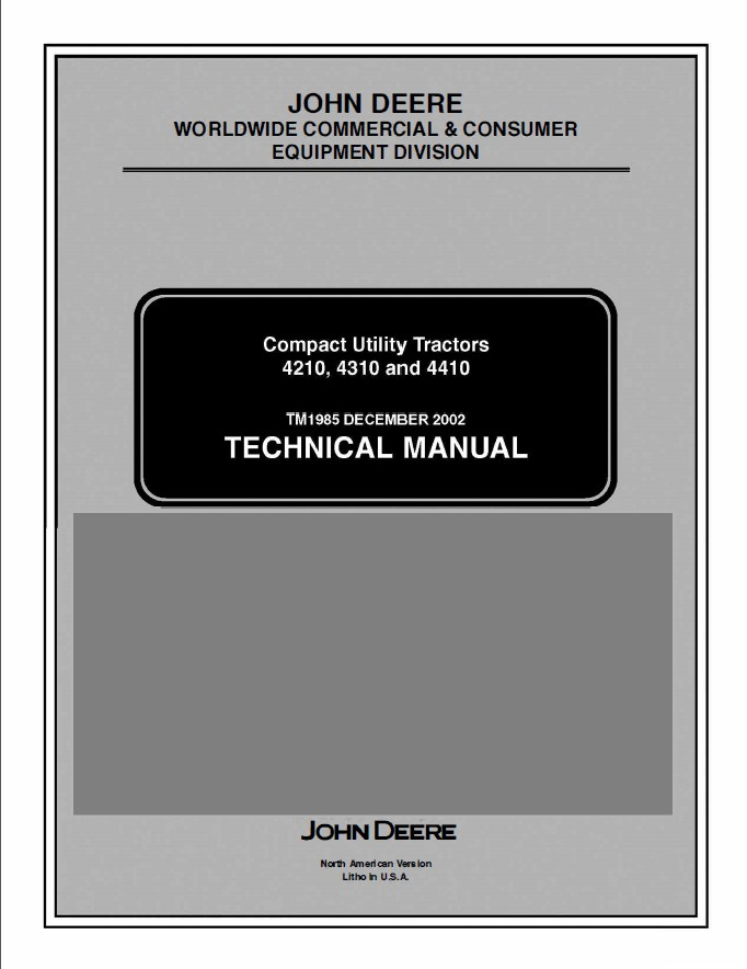 John Deere 4310 Wiring Diagram Free Download Wiring Diagrams