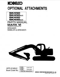 Kobelco SK450(LC) SK480(LC) Mark VI Excavator PDF