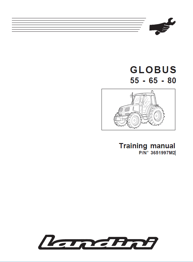 Landini Globus 55-65-80 Training + Workshop Manuals PDF