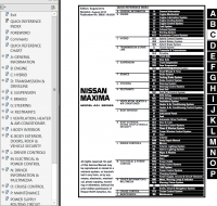 Nissan Maxima Model A35 Series 2013 Service Manual PDF