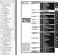 Nissan Altima Model L32 Series 2011 Service Manual PDF