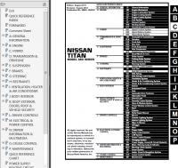 Nissan Titan Model A60 Series 2012 Service Manual PDF