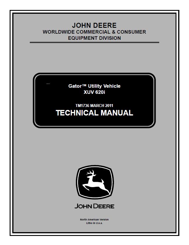 Wiring Schematics For John Deere Gator
