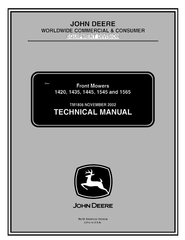 John Deere 1445 Wiring Diagram