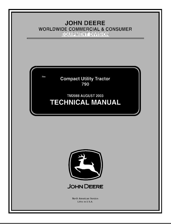 Wiring Diagram For John Deere 790 Tractor