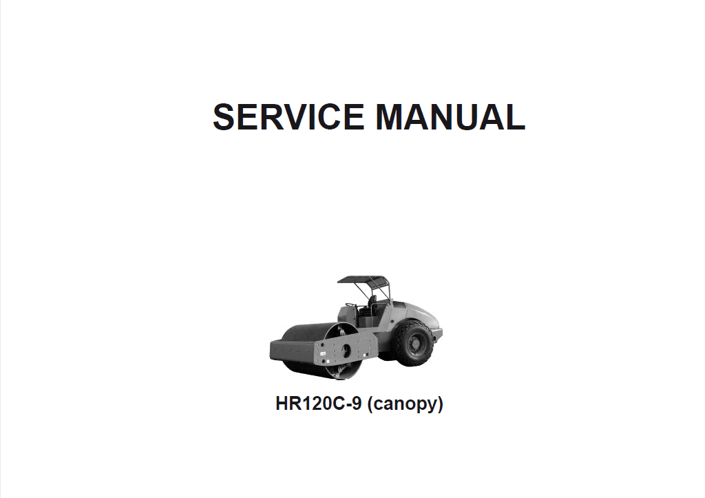 Download Hyundai HR120C-9 (Canopy) Rollers Service Manual