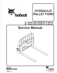 Bobcat 42 inch & 48 inch Hydraulic Pallet Fork Service