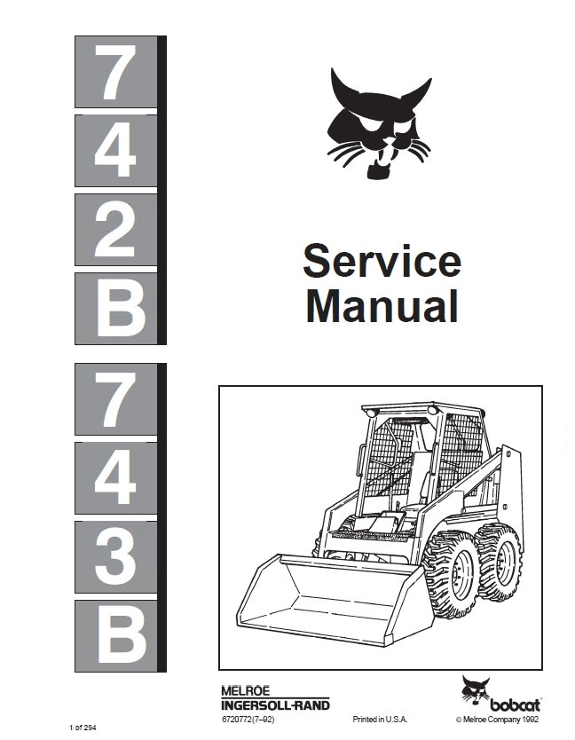 Bobcat 743b Wiring Diagram. Parts. Wiring Diagram Images