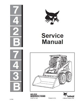Bobcat 743b Parts Diagram Pdf Diagram Wiring Diagram Images