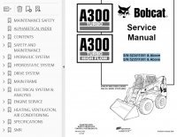 Bobcat A300 Turbo/HF Skid Steer Loaders Service Manual PDF