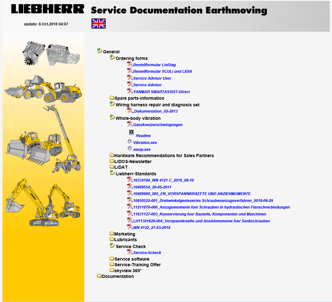 hight resolution of repair manual liebherr lidos parts and service documentation offline 2019
