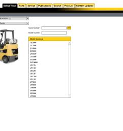 repair manual caterpillar lift trucks 2019 mcfa usa parts catalog and service manuals [ 1206 x 930 Pixel ]