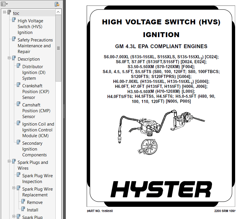 Hyster Class 5 N005 Europe Combustion Engine Trucks PDF