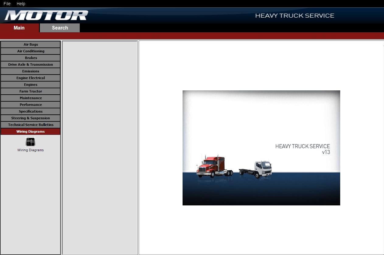 hight resolution of repair manual motor heavy truck service v13 0 2014