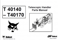 Bobcat T40140 T40170 Telescopic Handlers Parts Manual PDF