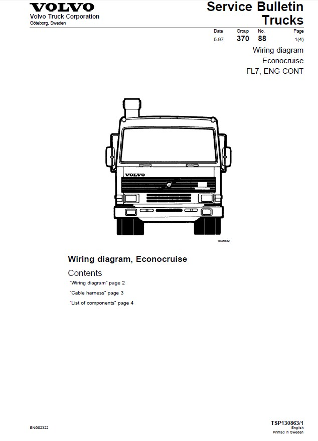 Volvo Truck Wiring Diagrams Pdf : 31 Wiring Diagram Images