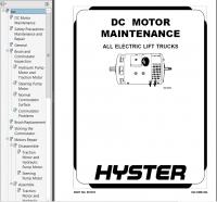 Hyster Class 1 G108 E40-65Z Electric Motor Rider Trucks PDF
