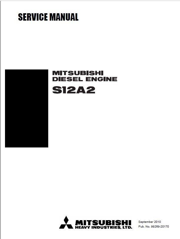 Download Mitsubishi S12A2 Diesel Engine Service Manual PDF