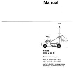 Clark Forklift C500 Wiring Diagram Electrical Diagrams Light Switch For Ys80 Y 950ch Sm850 Service