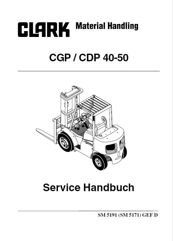 CLARK FORKLIFT MANUALS PDF